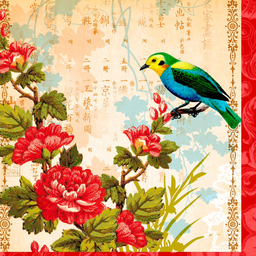Fortune-Rose-and-Bird