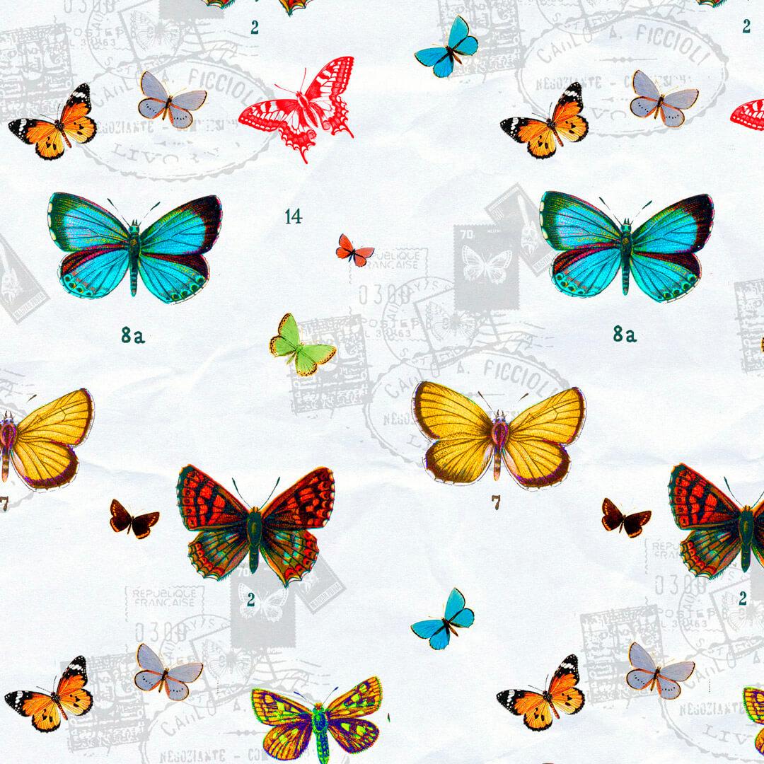 Schmetterlinge-Vintage1